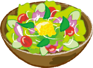 野菜で食物繊維を!