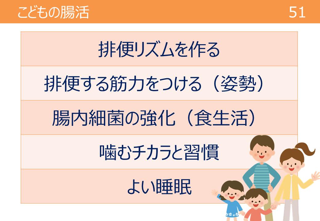 子供の腸活のポイント